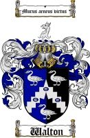 $8.99 Walton Family Crest / Walton Coat of Arms - Download Family Crests