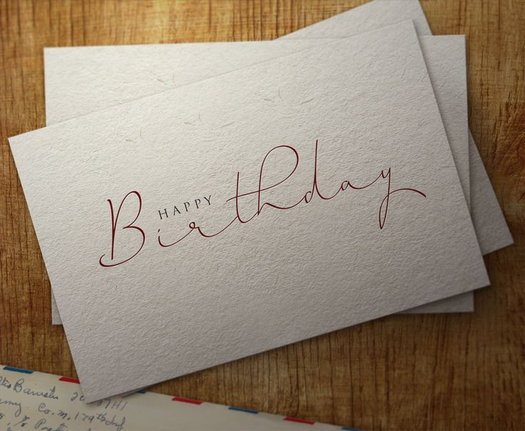Happy Birthday. Horizontes Script By Panco Sassano and Ale Paul. Buy this font at www.sudtipos.com
