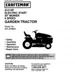 craftsman lawn mower parts ireland