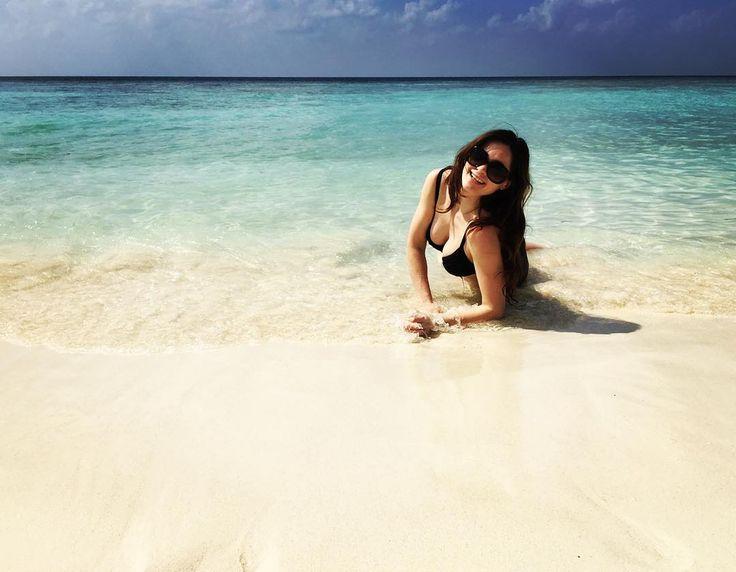 Эпизод из жизни морских котиков..) #maldivesislands #maldives #summertime #onthebeach by anastasia_konovalchik