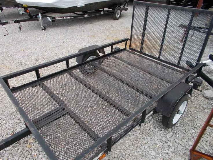 Used 2014 Carry-On Trailer 5x8 TRAILER WITH GATE ATVs For Sale in Alabama. 2014 Carry-On Trailer 5x8 TRAILER WITH GATE, MESH FLOOR ALLOWS EASY WASH THROUGH FOR GRASS, MUD, ETC. MESH FLOOR ALLOWS EASY WASH THROUGH FOR GRASS, MUD, ETC.