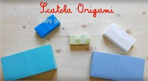 """Comieco Comieco Faidate: tutorial """"scatola origami"""" per la festa dei nonni  È arrivata la festa dei nonni! Per festeggiarli al meglio vi proponiamo una scatola origami, che potete realizzare insieme a loro o regalargliela.  Vi servono solo fogli e cartoncini colorati quadrati. La dimensione della vostra scatola varierà a seconda della grandezza dei fogli che userete. Piegate i vostri fogli come mostrarto nel video e in soli 5 minuti otterrete una scatola origami di grande effetto. Potete…"""