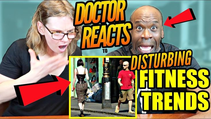 DOCTOR REACTS TO DISTURBING FITNESS TRENDS (Like WTF???)