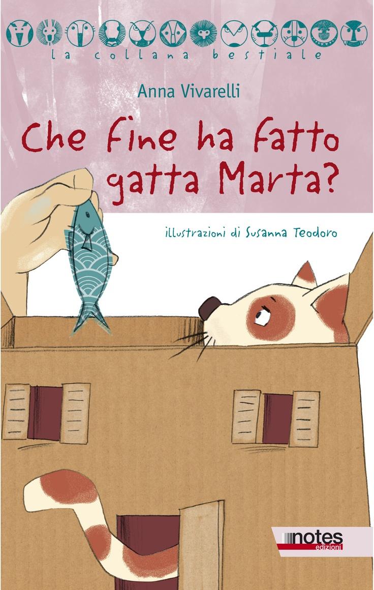 """""""Che fine ha fatto gatta Marta"""" di Anna Vivarelli"""