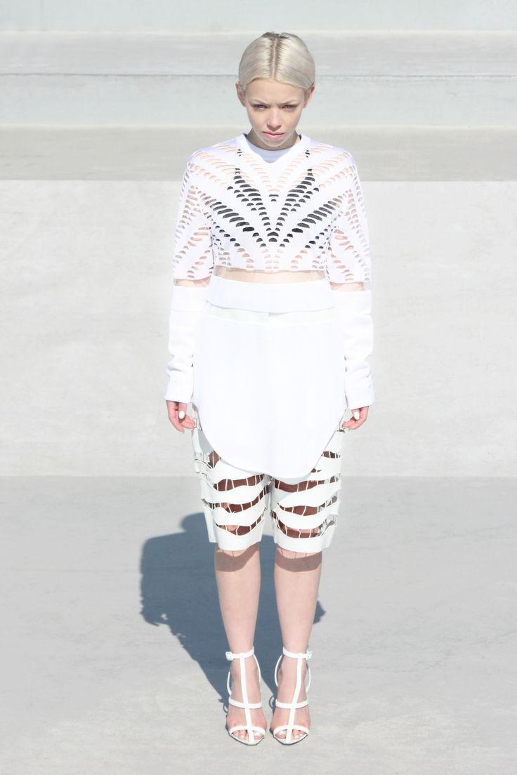 Ivania Carpio in Alexander Wang for SHOWstudio.com.