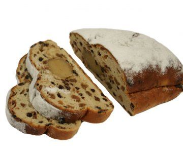 This lovely bread with raisins and almond paste is what the Dutch eat for breakfast at Christmas, Easter and Pentecost. The funny thing is that the name changes with each holiday :-)