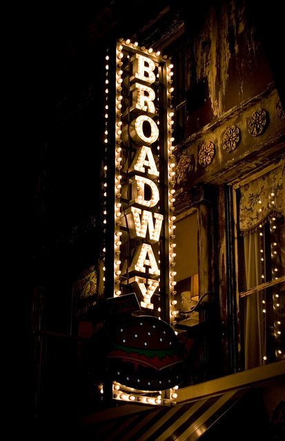 Twice a year I try to go to NY to dine and see Broadway shows