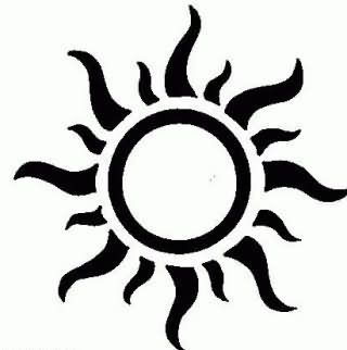 best 25 tribal sun tattoos ideas on pinterest tribal sun henna for boys and sun tattoo designs. Black Bedroom Furniture Sets. Home Design Ideas