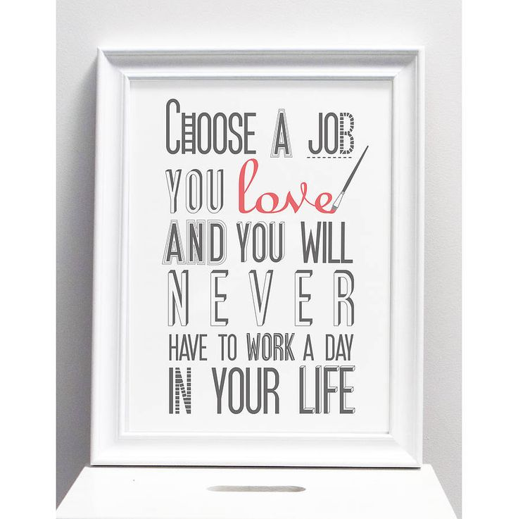 how to choose the best job for you