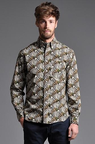 Gitman Vintage Zebra Shirt