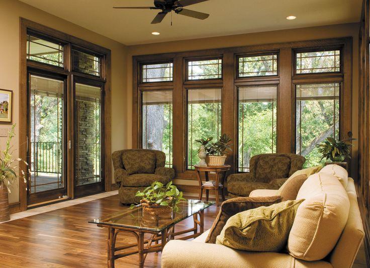 Relaxing Wooded Retreat   Designer Series® Sliding Patio Doors | Pella  Photo Gallery