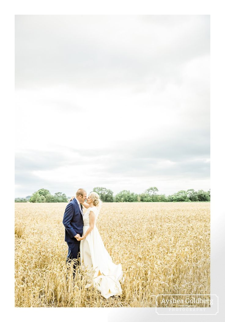 DIY and homemade wedding in Eccleshall, Staffordshire.