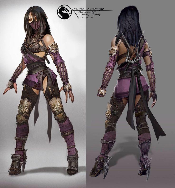 Mileena concept  Mortal Kombat X