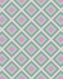 Corner to corner crochet pattern graphghan C2C by MissCro
