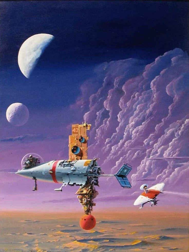 Préférence 2307 best Science Fiction Art images on Pinterest | Fantasy art  RQ15