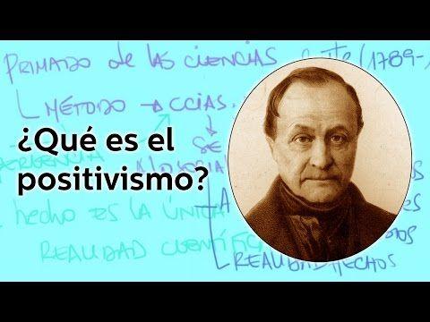 Comte y el positivismo - Sociología - Educatina - YouTube