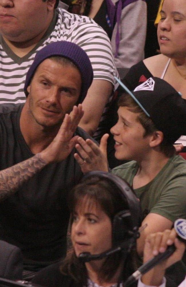 David Beckham enjoys some family time - is he the world's coolest celeb dad?