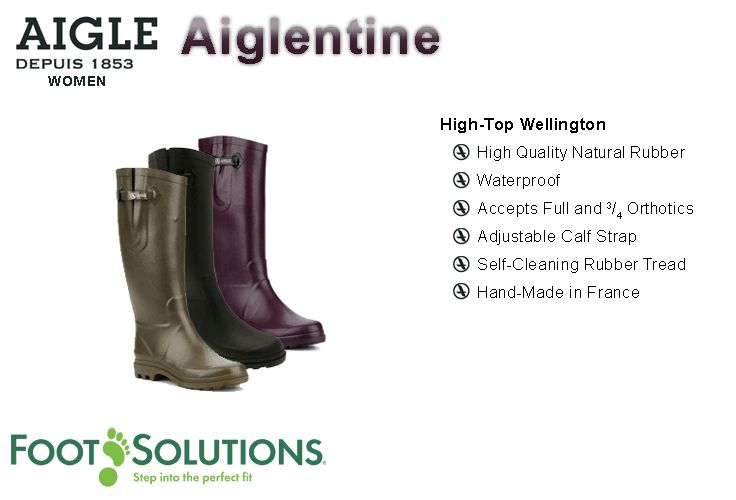 Aigle Aiglentine - Women // Autumn 2014