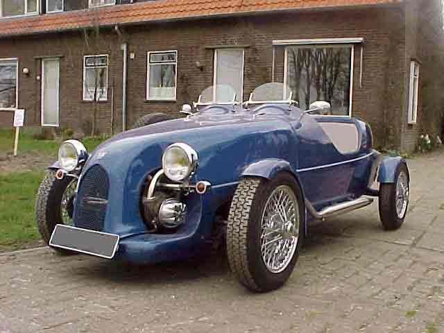 """le Patron"" a kit car based on the 2CV6 - this is the 4 wheel version"