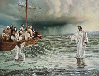 do not hesitate when God asks every single of us to walk on the water. Kindly accept His invitation and experience a marvelous thing with Him