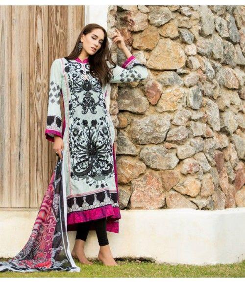 Ayesha Zara Embroidered Lawn Collection AZ_09B