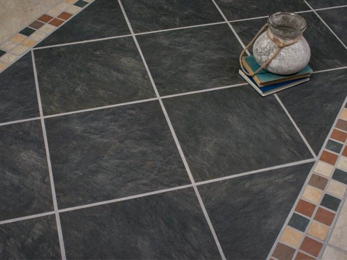 Kilimanjaro Kalahari Midnight Floor Tile Stone Look