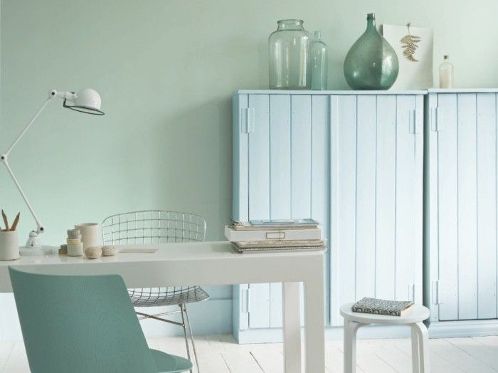 52 besten wandfarbe mint salbei bilder auf pinterest wandfarben wandfarbe mint und salbei. Black Bedroom Furniture Sets. Home Design Ideas