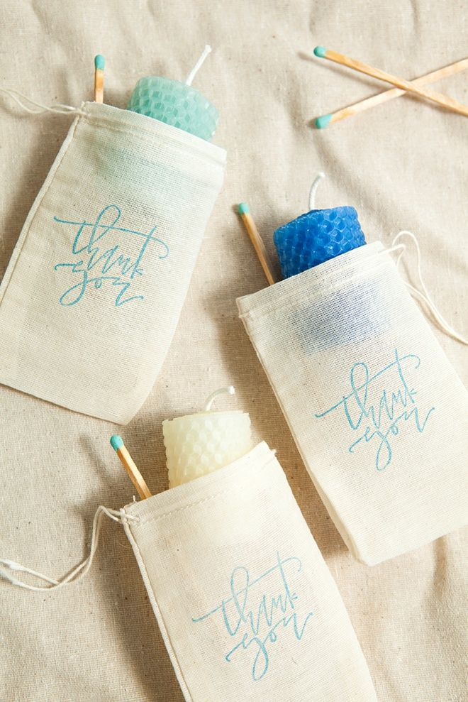 Learn how to make beeswax sheet candle votives! Diy