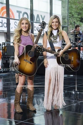 Maddie Marlow from the country music duo Maddie & Tae performs on NBC's Today show at Rockefeller Plaza on Tuesday, Sept. Description from newsok.com. I searched for this on bing.com/images