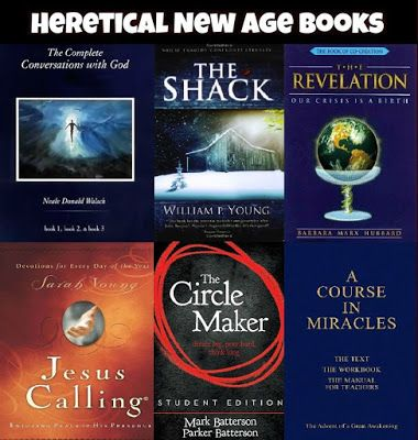 Heretical New Age books being promoted as Christian (and Christians are buying them)