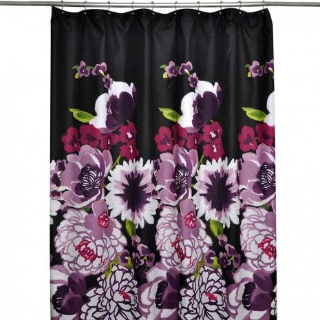 Milena Fabric Shower Curtain By Essenza