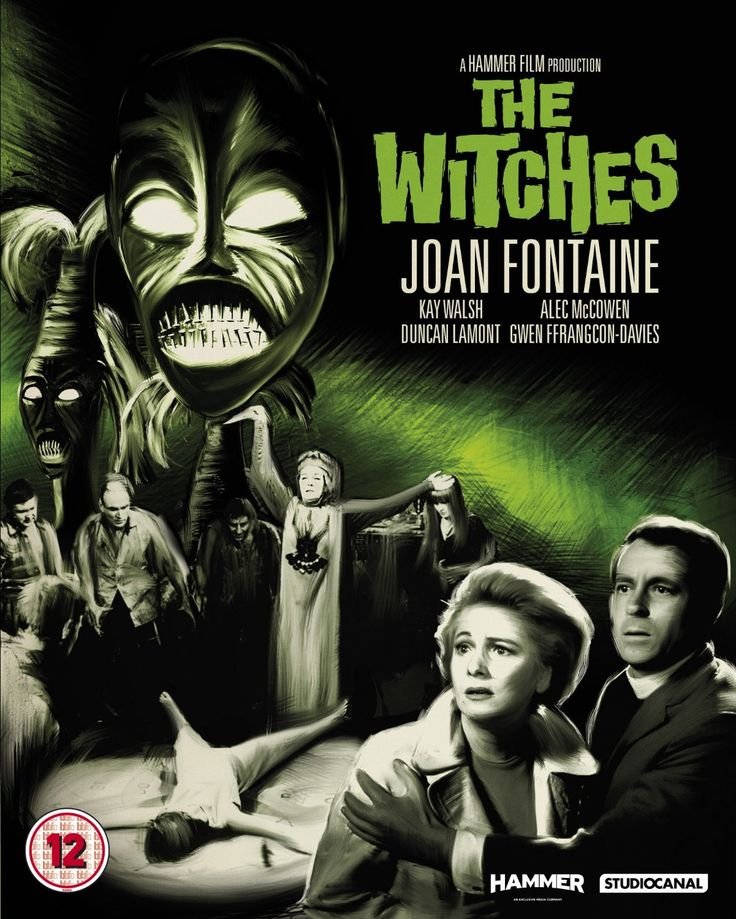 The Witches (1966) Hammer Film - Movie Posters https://www.youtube.com/user/PopcornCinemaShow