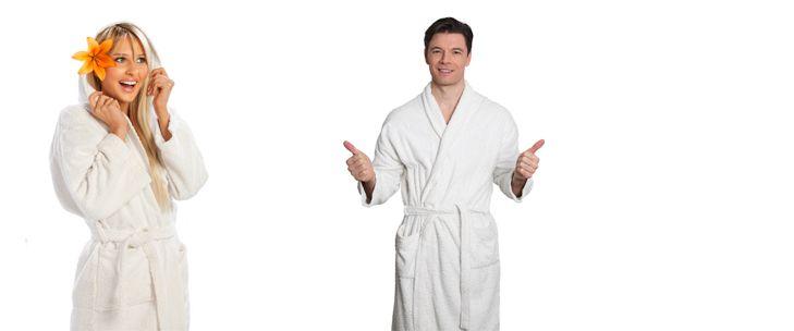 Keus in badjassen voor hem in www.okeshop.nl