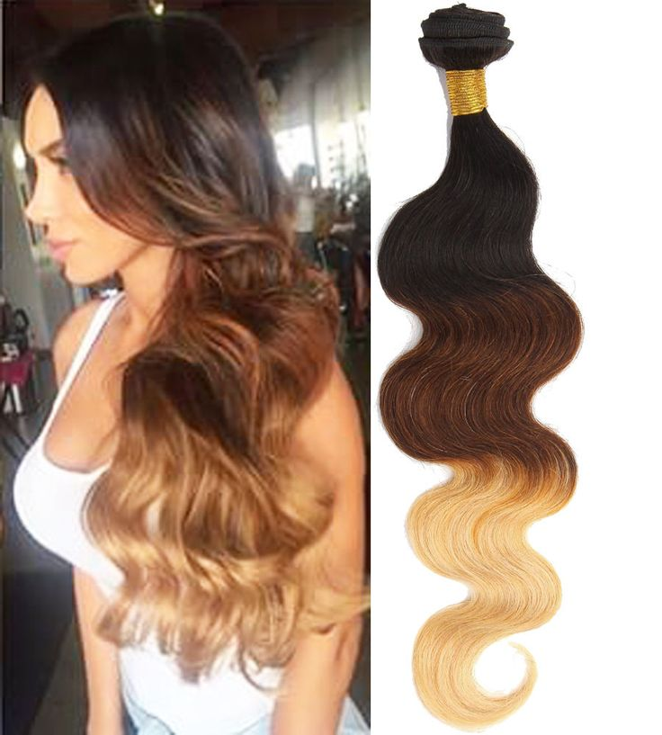 1234 best high quality real human hair extension images on us ship human hair extensions 150g 3bundles 26in body wave ombre long hair wefts pmusecretfo Images