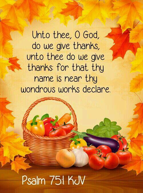 Psalm 75:1 KJV