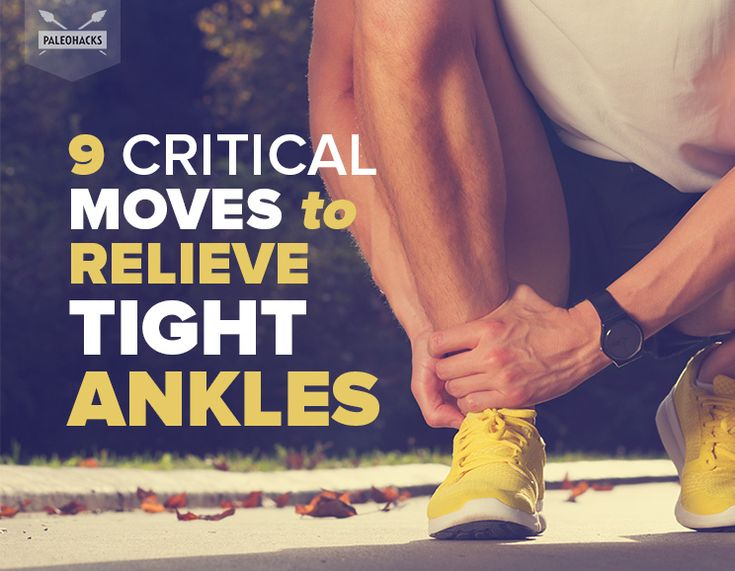 9 Critical Moves to Relieve Tight Ankles