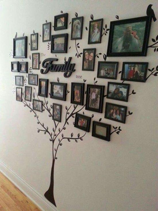 13 Creative Ways To Display Photos & Decorate Your Home   Postris
