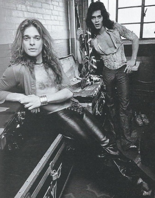 David Lee Roth and Eddie Van Halen