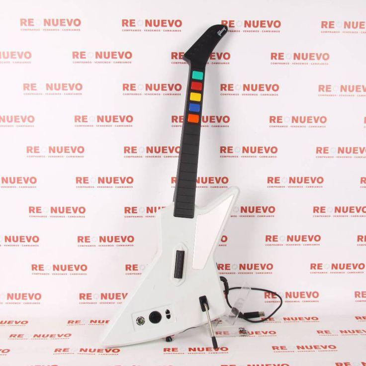 #Guitarras de #GUITAR HERO 3 para XBOX360 E269041 de segunda mano   Tienda de Segunda Mano en Barcelona Re-Nuevo #segundamano