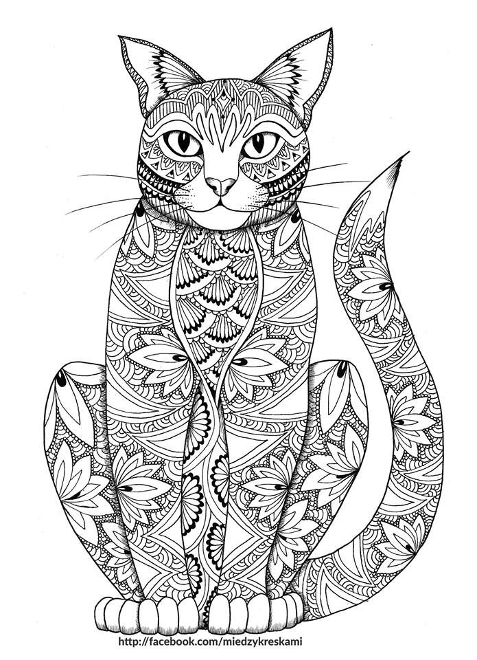 free coloring page for adults pinteres