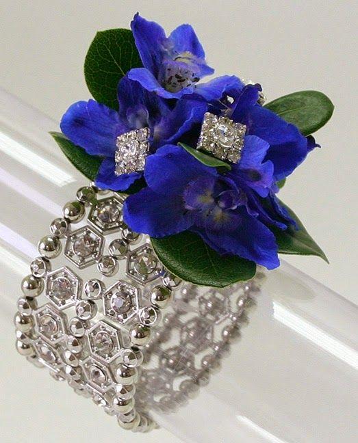 Rhinestone Bracelet with Kara's Kisses - Brilliance accents - Fitz Design - Prom #FitzDesignProm