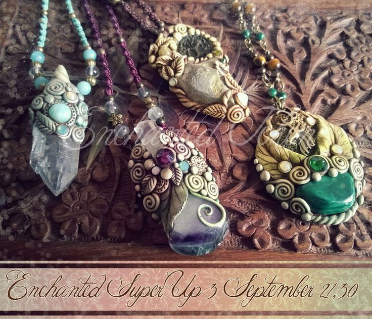 Preview New Pendants! by EnchantedTokenArt on deviantART