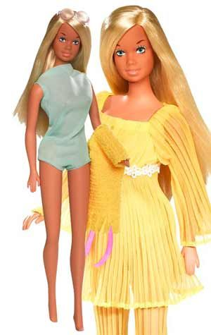 1971 Malibu Barbie Doll, I still have my original Malibu Barbie and the yellow outfit behind her.  I sold everything else on eBay.  Fun to see them together.