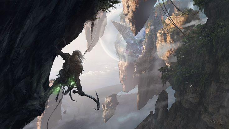 Concept art for Battle for Zendikar / Magic: The Gathering
