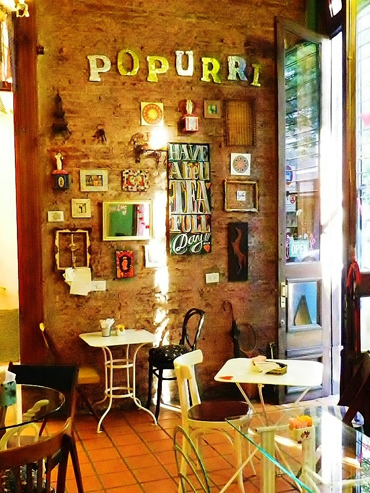 Popurri Bistro | Rosario, Argentina - my dream cafe would look something like this.