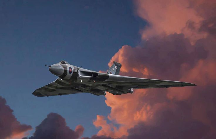 best photo of Vulcan XH558 ever!