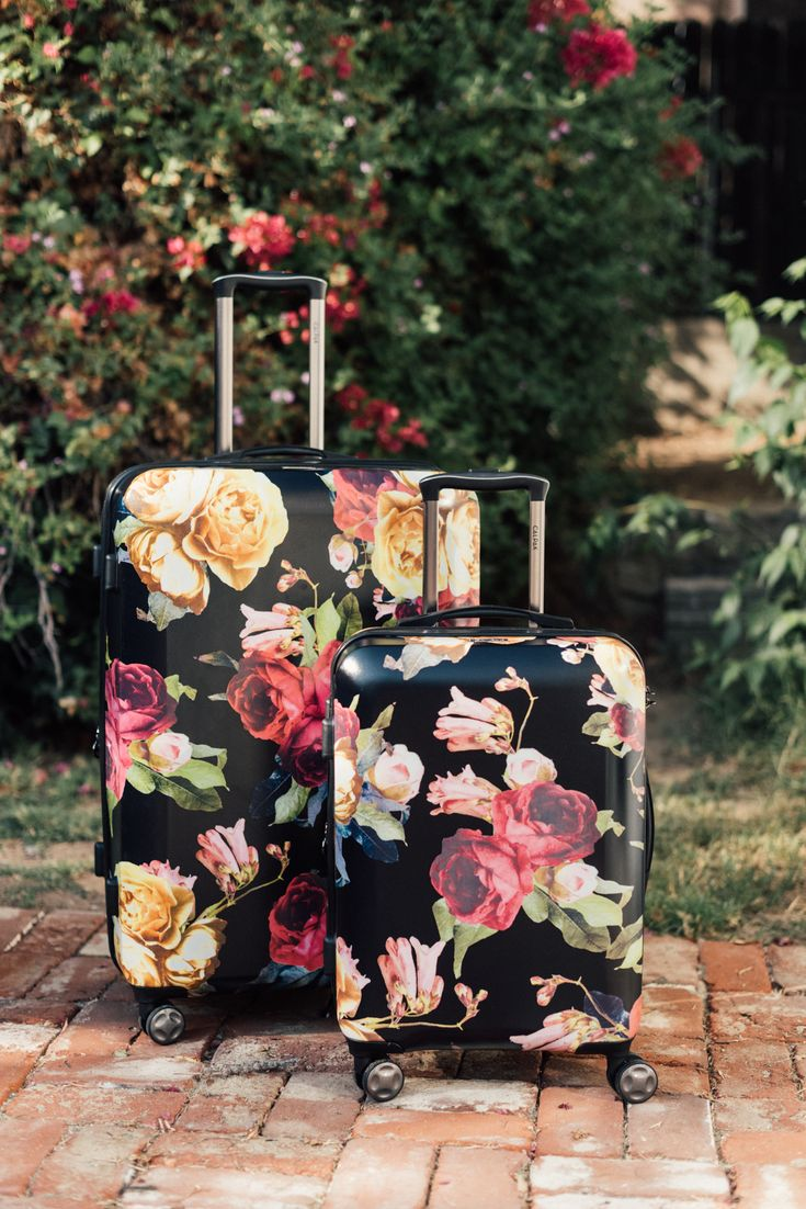 #TRAVELOBSESSION: ASTYLL MILK MARBLE AND PETALS LUGGAGE – CALPAK