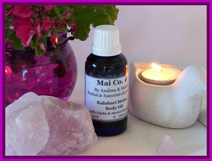Kalahari melon Body oil - Keeps skin rehydrated and rejuvenated