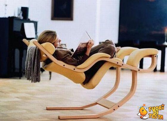 Una sedia davvero originale