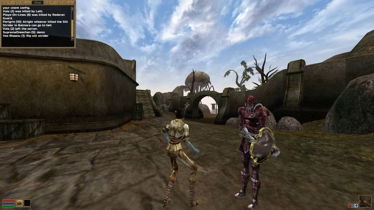 Playing Morrowind's first fully functional multiplayer mod- TES3MP!